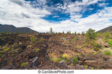 Sunset Crater National Monument, Arizona, USA
