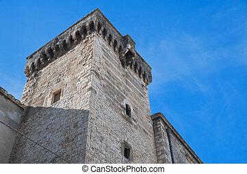 Norman tower Adelfia Apulia