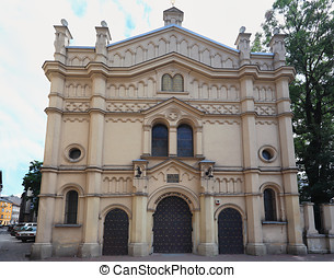 Krakow, Tempel synagogue - All of Krakows seven synagogues...