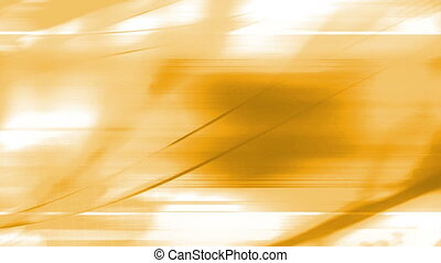 Orange and white flowing animated abstraction CG looping...