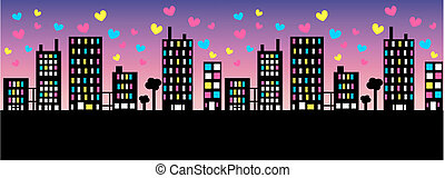 header - illustration of a city skyline