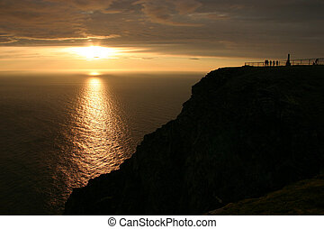 Midnight Sun at the North Cape #1