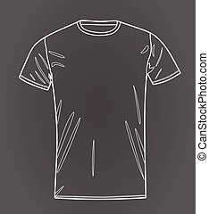 T shirt outline