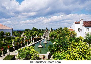 Castelo Branco garden, Beira Baixa region, Portugal