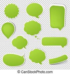 Big Green Eco Labels Set
