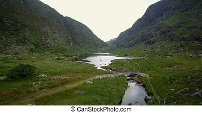 Aerial, Gap Of Dunloe, County Kerry, Ireland - Graded...
