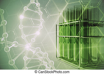 Green lab research background