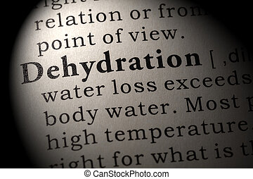 definition of Dehydration - Fake Dictionary, Dictionary...