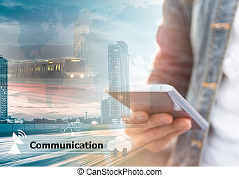 communication - Communication Connection Digital Devices and...