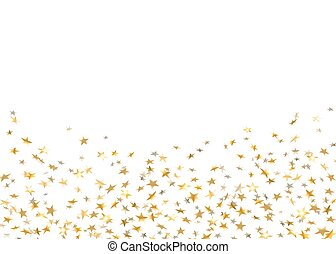 gold star confetti background - Gold stars falling confetti...