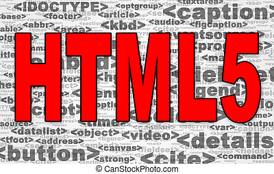 HTML5 - New version of Hyperlink Text Markup Language HTML5...