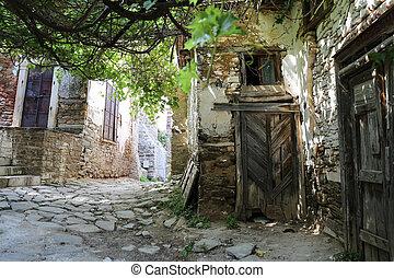 Street in Sirince Village, Izmir, Turkey - Street in Sirince...