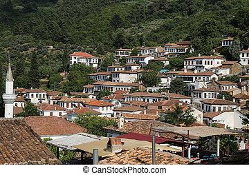 Sirince Village in Izmir, Turkey - Sirince Village in...
