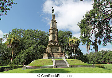 Confederate Memorial - The Confederate Memorial is one of...