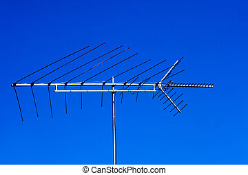 Outdated analogue tv antenna - Old rooftop directional tv...