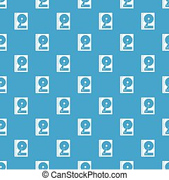 HDD pattern seamless blue - HDD pattern repeat seamless in...