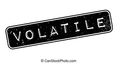 Volatile rubber stamp. Grunge design with dust scratches....