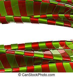 Abstract metal christmas color background
