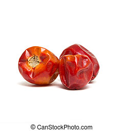Dried Chillis - Dried whole round Chillis from low...