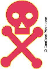 Poison Symbol Icon - Illustration of a Poison Symbol icon,...