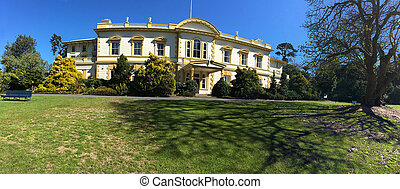 Old Government House - Auckland New Zealand - Panoramic view...