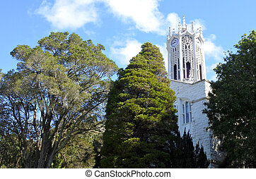 Clocktower of the Auckland University - Old Arts Building...