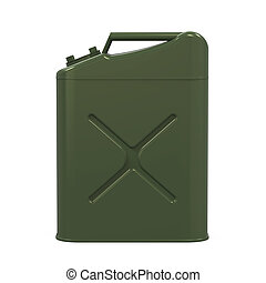 Jerry Can Isolated - Jerry Can isolated on white background....