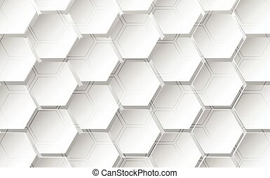 Abstract hexagon background. Technology polygonal design. vector illustration