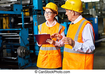 segurança, planta, modernos, inspeção