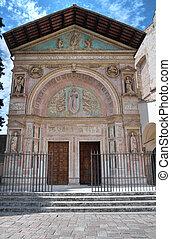 Oratory of St Bernardino Perugia Umbria