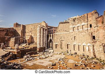 Forum of Augustus in Rome - Forum of Augustus (Foro di...