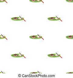 Tasty food, a sandwich with chocolate.Food single icon in cartoon style vector symbol stock illustration web.