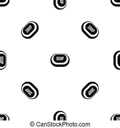 Soap pattern seamless black - Soap pattern repeat seamless...