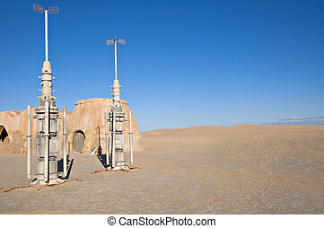 "Ong Jemel (Tunisia) is the place where the movie ""Star wars""..."