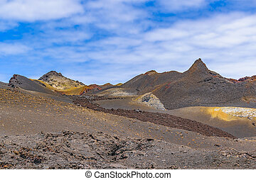 Sierra Negra Volcano, Galapagos, Ecuador