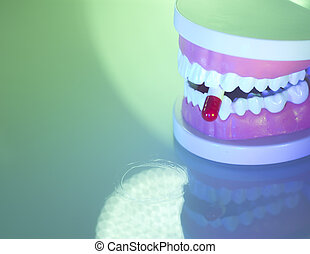 Dental teeth dental pill