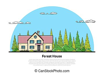 forest house concept