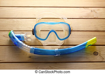 Goggles and Snorkel