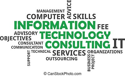word cloud - information technology consulting - A word...