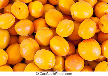 Punch Apricots - A punch of many Apricots lying around after...