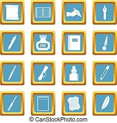 Writing icons azure