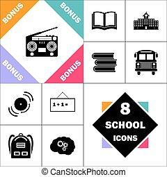 boombox computer symbol - boombox Icon and Set Perfect Back...