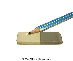 pencils with an eraser