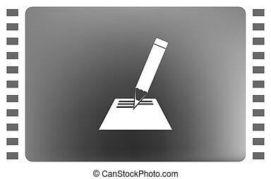 Note pad icon