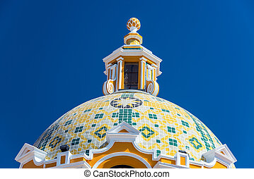 Church Dome and Blue Sky