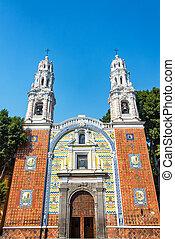 Beautiful Guadalupe Church in Puebla - Beautiful Guadalupe...