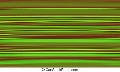 Horizontal Distorted Abstract Lines 1