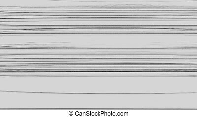 Horizontal Distorted Abstract Lines 8 - Computer generated...
