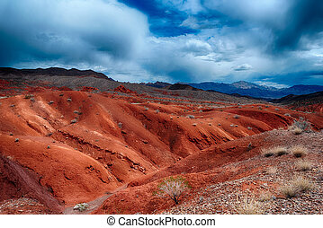 Valley of Fire - Amazing colors and shape of the rocks in...