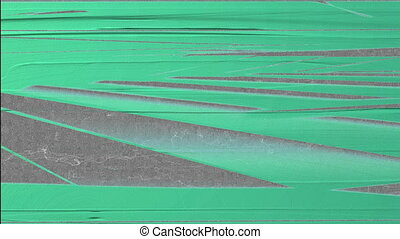 Horizontal Distorted Abstract Lines 9